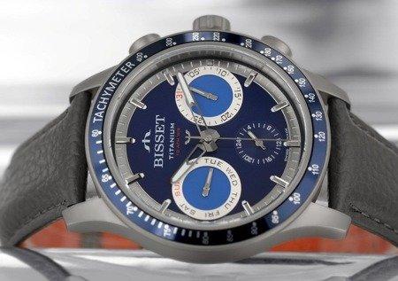 Zegarek Bisset BSCE36 DIDX 10BX Tytanowy