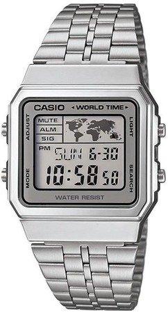 Zegarek Casio A500WEA-7EF Retro