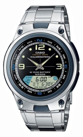 Zegarek Casio AW-82D-1AVEF Fishing Gear