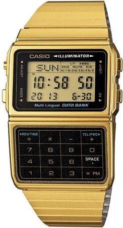 Zegarek Casio DBC-611GE-1EF DataBank Kalkulator