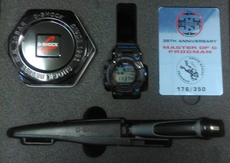Zegarek Casio Frogman Limited 35th 176/350 GWF-D1000B-1LTD