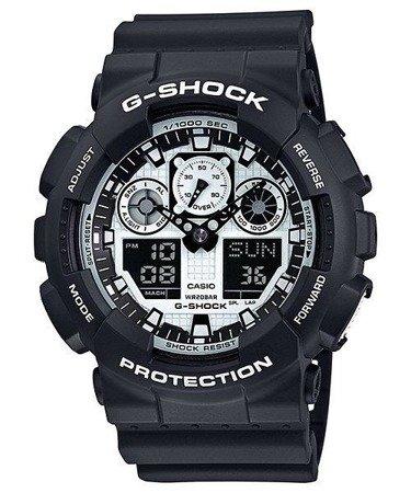 Zegarek Casio GA-100BW-1AER G-Shock