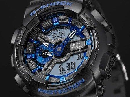 Zegarek Casio GA-110CB-1AER G-Shock Cool Blue