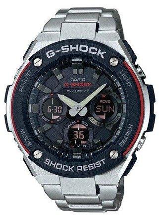 Zegarek Casio GST-W100D-1A4ER G-Shock G-Steel