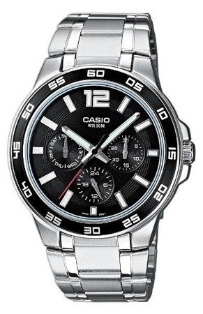 Zegarek Casio MTP-1300D-1AVEF MultiData