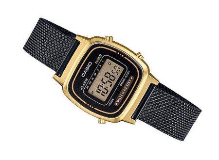 Zegarek Damski Casio Retro LA670WEMB-1EF Gold Tone