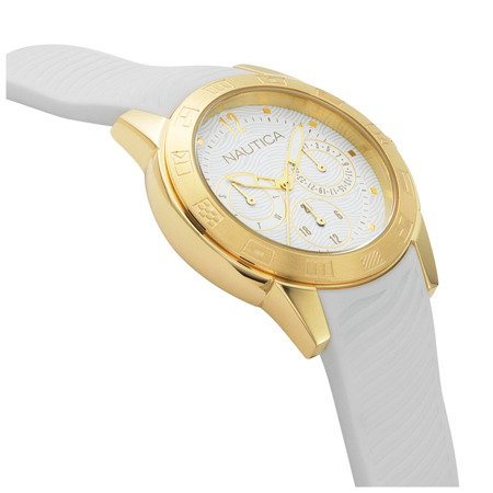 Zegarek Nautica Long Beach NAPLBC002 MultiData Gold