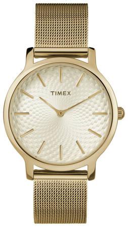 Zegarek Timex TW2R36100 Metropolitan 34 Slim Gold