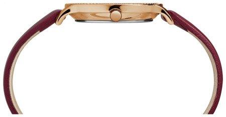 Zegarek Timex TW2R51100 Metropolitan 34 Slim Rose Gold